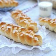 全麦辫子面包