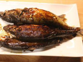 香鱼甘露煮