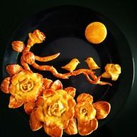 #甜味#花好月圆创意月饼