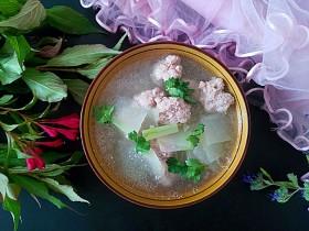 一碗汤+极鲜冬瓜肉丸汤