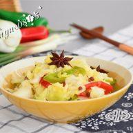 早餐+圆白菜腌菜