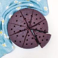 超松软黑米糕