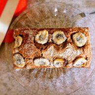 快手椰油巧克力酱香蕉蛋糕
