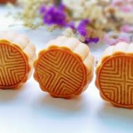 蔓越莓绿豆馅月饼(内附馅料做法)