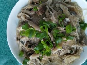 早餐+牛肉蘑菇炖粉条
