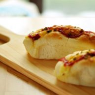 香葱芝士香肠面包(波兰种)