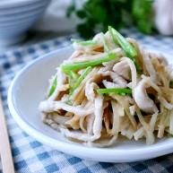 咸芥菜头煸肉丝