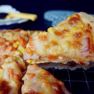 玉米培根披薩