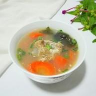 淡菜海带结排骨汤