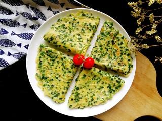 #绿色美食#韭菜鸡蛋饼,好吃。