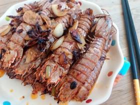 豆豉辣酱皮皮虾
