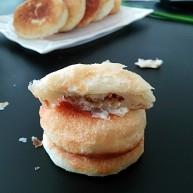 奶香油酥核桃饼