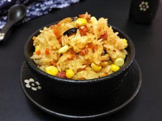 蒸腊味糯米饭,你确定不要多来一碗吗?😄 蒸的时候就已是满屋飘香了!
