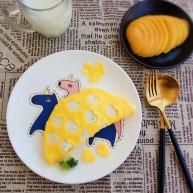 花式米饭之爱心蛋包饭