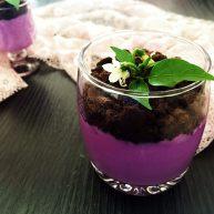 奥利奥紫薯奶热饮