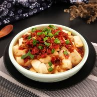 剁椒蒸豆腐~15分钟快手菜