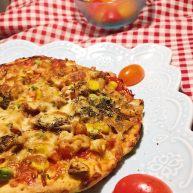 小白也会的奥尔良烤鸡腿披萨 「8寸薄脆版」