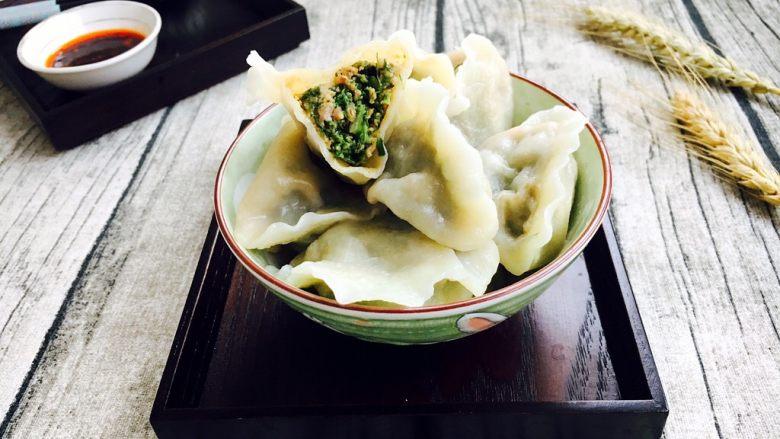 北方特色饺子 茴香馅水饺(附和馅小技巧)