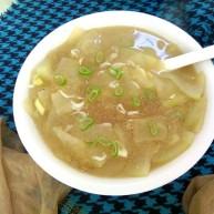 虾皮冬瓜粉丝汤