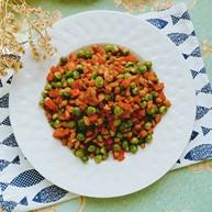 肉沫炒豌豆