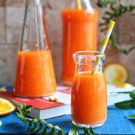橙色水果汁