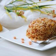 鸡蛋火腿辣椒酱炒饭