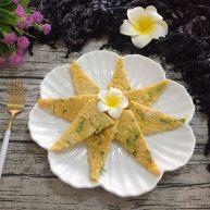 玉米苦瓜煎蛋饼