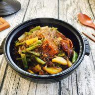 低油低盐健康美味下饭菜 牛背筋粉丝煲