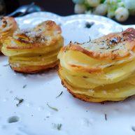 #家有烤箱#帕玛森干酪马铃薯塔