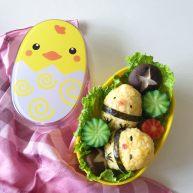 宝宝辅食:小鸡便当盒
