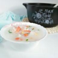 海鲜砂锅粥(宝宝辅食)
