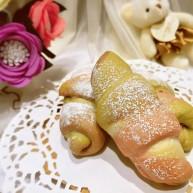 #家有烤箱#+彩色面包卷