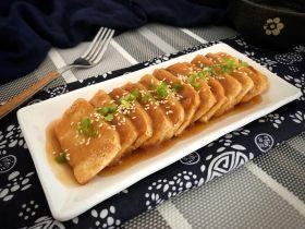 脆皮豆腐~蘋果醬版