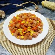 午餐肉炒杂蔬