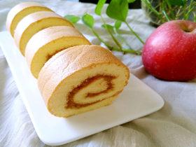 蘋果醬蛋糕卷