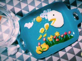 创意食物造型画之@@蛋蛋吐了@@「内附煮溏心鸡蛋精准方程式」