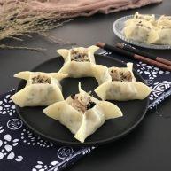 中式点心~四方饺子(不一样的饺子)