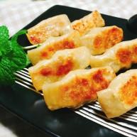 茴香猪肉锅贴