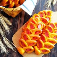 南瓜香腸麥穗面包