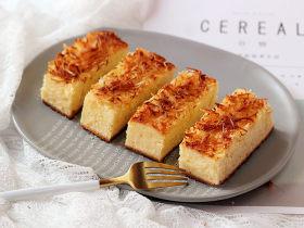 椰子乳酪磅蛋糕