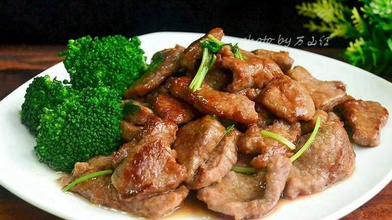 炙子烤蜜汁牛肉