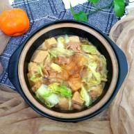 白菜粉条冻豆腐