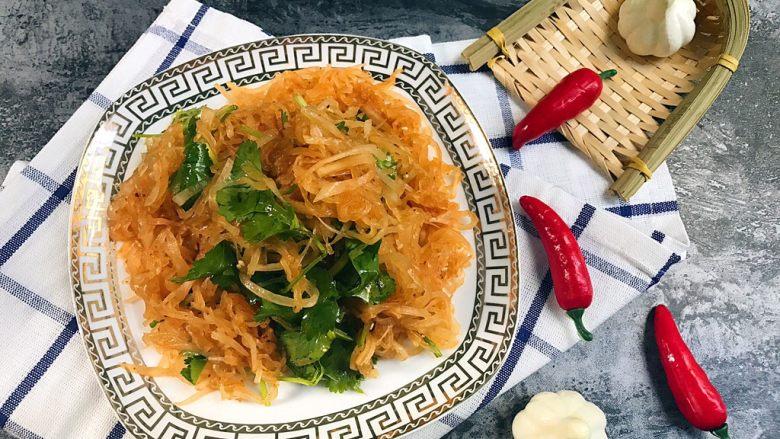 清爽小凉菜——红油拌萝卜丝