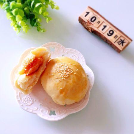 奶香肉松火腿小面包