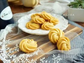 黄油曲奇—烤出花纹不会消失的曲奇
