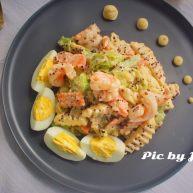 藜麦蔬果虾仁沙拉