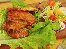香煎鸡胸肉