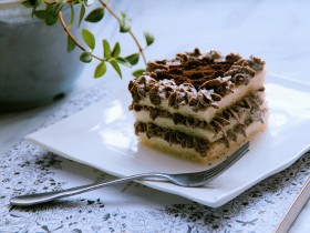 奥利奥咸奶油土司蛋糕
