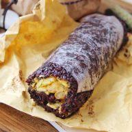紫米粢飯團