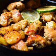 糖醋菜+酸甜泰式煎雞翅